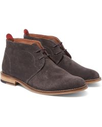 Oliver Spencer - Baxter Suede Chukka Boots - Lyst