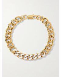 A.P.C. - Gold-tone Enamel Bracelet - Lyst