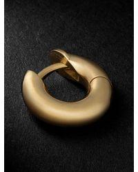 Spinelli Kilcollin Mini Macrohoop Gold Single Hoop Earring - Metallic