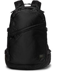 Porter Tanker Padded Shell Backpack - Black