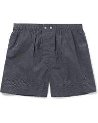 Derek Rose - Plaza Polka-dot Cotton Boxer Shorts - Lyst