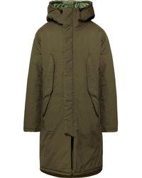 Monitaly - Harry's Vancloth Cotton Hooded Parka - Lyst