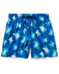 Vilebrequin - Mahina Slim-fit Mid-length Printed Swim Shorts - Lyst