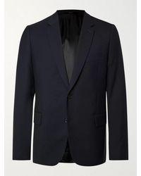 Paul Smith Soho Slim-fit Wool-twill Suit Jacket - Blue