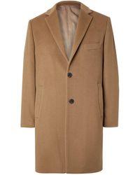 Altea Cashmere Overcoat - Multicolor