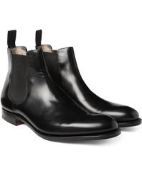 Church's - Houston Leather Chelsea Boots - Lyst