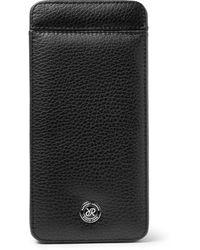 Rapport London Full-grain Leather Watch Case - Black