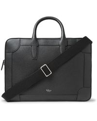 Mulberry Full-grain Leather Briefcase - Black