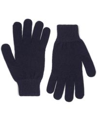 Paul Smith - Ribbed Cashmere And Wool-blend Gloves - Lyst