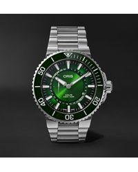 Oris Hangang Limited Edition Automatic 43.5mm Stainless Steel Watch - Green