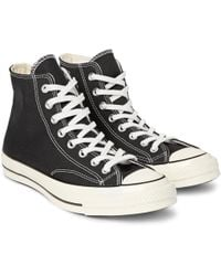 Converse - 1970s Chuck Taylor All Star Canvas High-top Trainers - Lyst