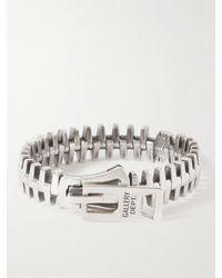 GALLERY DEPT. Zipper Silver Bracelet - Metallic