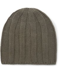 Brunello Cucinelli - Cable-knit Cashmere Beanie - Lyst