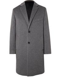 Altea Chester Cashmere Overcoat - Gray
