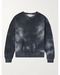 Remi Relief - Oversized Tie-dyed Fleece-back Cotton-blend Jersey Sweatshirt - Lyst