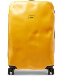 Crash Baggage Icon Medium Polycarbonate Suitcase - Yellow