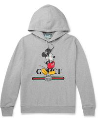 Gucci Disney X Hooded Sweatshirt - Grey