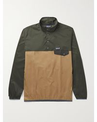 Patagonia Houdini Snap-t Recycled Ripstop Jacket - Brown