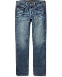 Beams Plus Slim-fit Denim Jeans - Blue