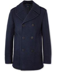 Polo Ralph Lauren Wool-blend Peacoat - Blue