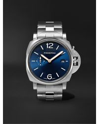 Panerai Luminor Due Automatic 42mm Stainless Steel Watch - Blue