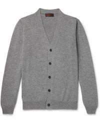 Altea Cashmere Cardigan - Grey