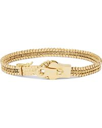 Luis Morais Gold Bracelet - Metallic
