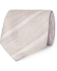 Tom Ford - 8cm Striped Linen And Silk-blend Jacquard Tie - Lyst