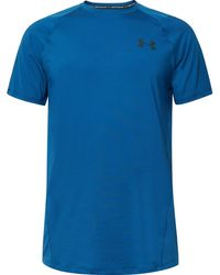 Under Armour - Raid Mesh-panelled Heatgear T-shirt - Lyst
