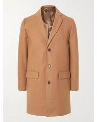 A.P.C. Wool-blend Coat - Brown