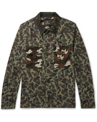 PS by Paul Smith - Camouflage-print Cotton Shirt Jacket - Lyst