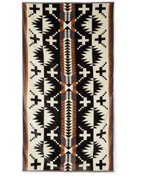 Pendleton Cotton-jacquard Towel - Black