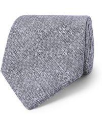 Oliver Spencer - 8cm Radford Linen-jacquard Tie - Lyst