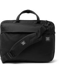 Herschel Supply Co. Trail Britannia Tech Nylon Briefcase - Black