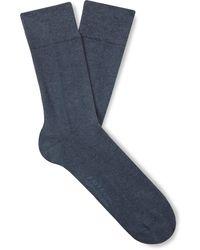Falke - Sensitive London Combed Stretch Cotton-blend Socks - Lyst