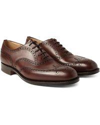 Church's - Chetwynd Leather Oxford Brogues - Lyst