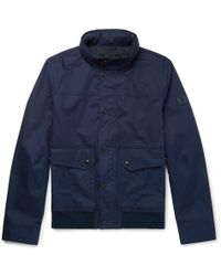 Tod's - Coated-cotton Bomber Jacket - Lyst