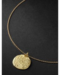 Elhanati String Gold Necklace - Metallic