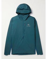 Arc'teryx Atom Sl Nylon Hooded Jacket - Blue