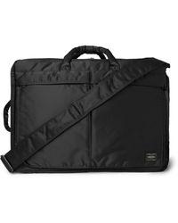 Porter Tanker 3way Nylon Briefcase - Black