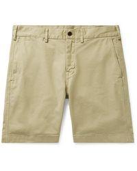 Alex Mill Slim-fit Stretch-cotton Twill Chino Shorts - Multicolour