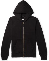 Visvim - Jv Slim-fit Cotton-jersey Zip-up Hoodie - Lyst