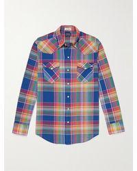 Polo Ralph Lauren Checked Cotton Shirt - Blue