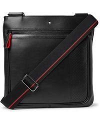Montblanc Extreme 2.0 Envelope Textured-leather Messenger Bag - Black