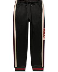 Gucci Technical Jersey Pant - Black