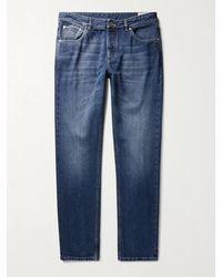 Brunello Cucinelli Selvedge Denim Jeans - Blue