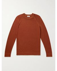 Altea Virgin Wool Jumper - Red