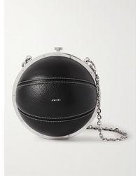 Amiri Full-grain Leather Pouch - Black