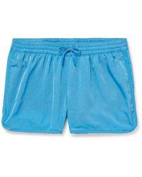 CDLP Cuixmala Two-tone Short-length Econyl Swim Shorts - Blue