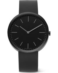 Uniform Wares - M37 Pvd-coated Stainless Steel And Rubber Watch - Lyst